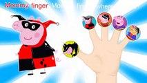 Peppa Pig Superman Vs Batman Finger Family / Nursery Rhymes Lyrics