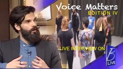 Mike Massy - Voice Matters - Workshop with Mike Massy B-Live Interview [Edition IV]