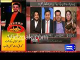 Anchor Kamran laughing and giving comments on Talal Chaudhry's tweet on Sunny Leone