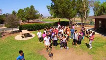 Yuneec Q500 Typhoon - Group #dronie of Harmony Christian Church Leadership Camp 2015