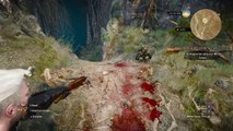 The Witcher 3: Wild Hunt evil bunny from monty python and the holy grail easter egg