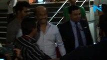 Rajinikanth receives  Padma Vibhushan, wife accompanies