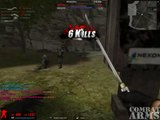 combat arms - Melee only: Knifing with the ninjato (Jc08)