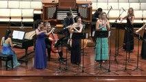 Mary Elizabeth Bowden, Brandenburg Concerto No.2 in F major, BWV 1047, Mvt. I  Allegro