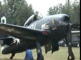 T28 douglas skyraider A-1 corsair F4U T6