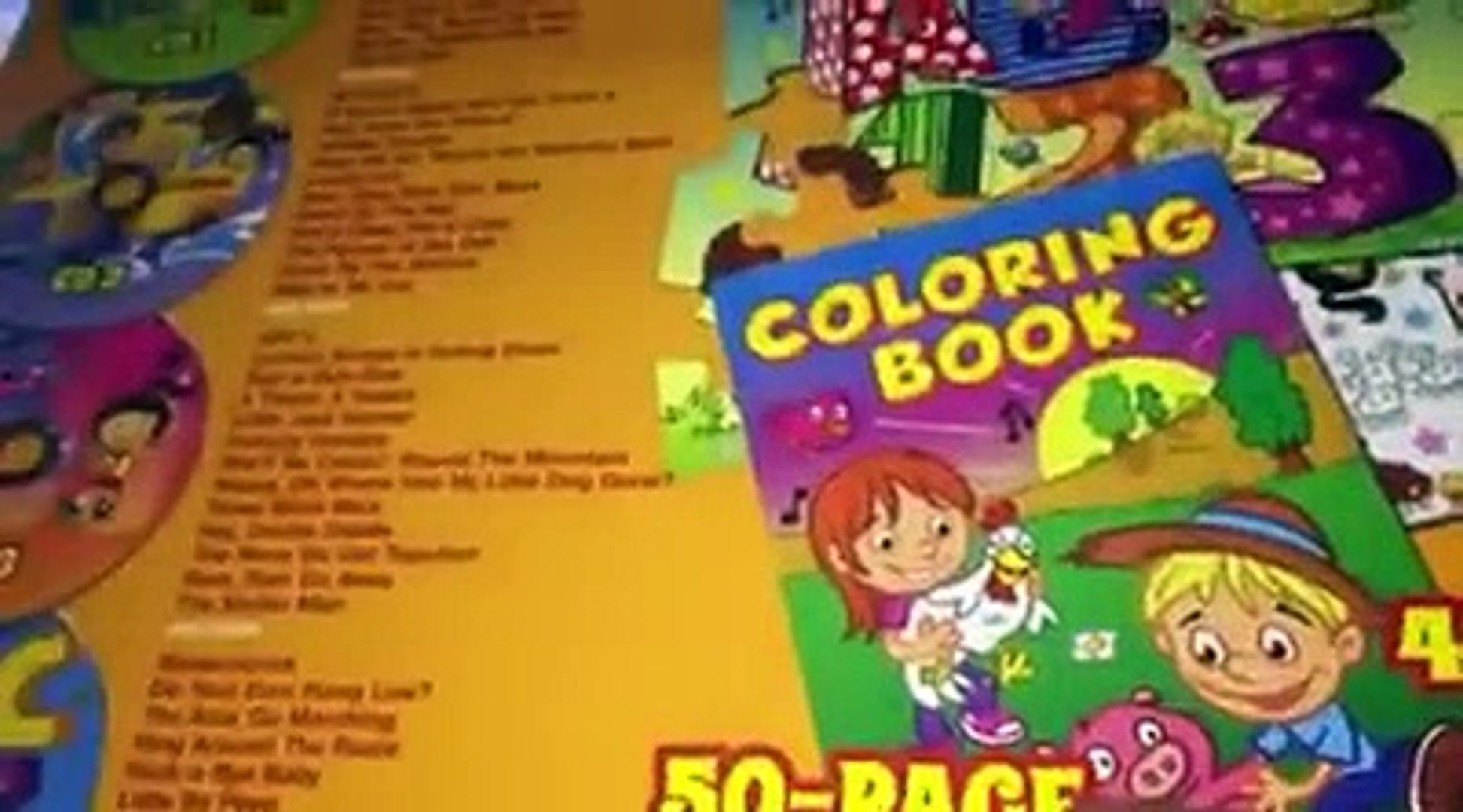 109 Songs For Kids Activity Kit Review