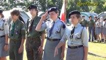 Obóz Harcerski Hufca ZHP Mielec  Karwia 2012 - apel poranny 2 lipca 2012r.