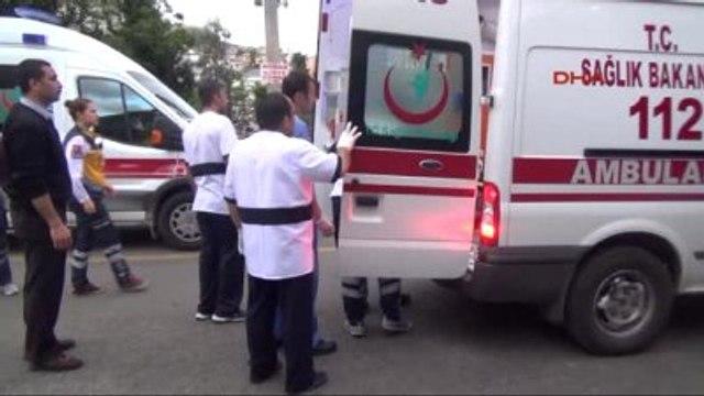 Alanya - Babasının Otomobiliyle Kaza Yapan Genç Yaralandı