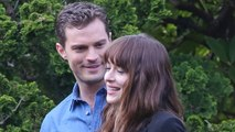 Anastasia Steele and Christian Grey Already Wearing Wedding Rings in New 'Fifty Shades Darker' Pics!