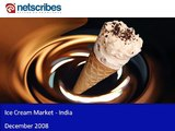Market Research India   Ice Cream Market in India 2009