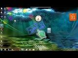 balochi language windows 7 tutorials (desktope icons setting (auto arrange and align to grid icons)