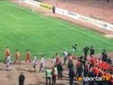 "Unique choreography of the ""red"" supporters of the stadium ""Bulgarian Army"""