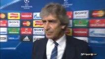Manchester City 1 - 0 PSG - Manuel Pellegrini Post Match Interview 2016