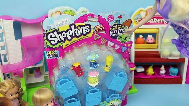 Frozen Kids Buy Shopkins Krista & Felicia Shopkins Shopping with Elsa & Anna by DisneyCarToys