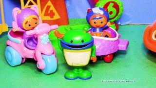 TEAM UMIZOOMI Nickelodeon Team Umizoomi Milli and Umiscooter