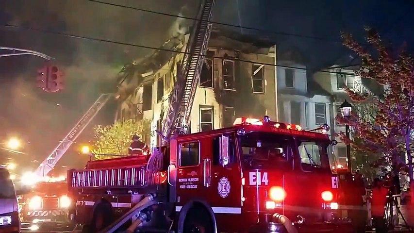 UNION CITY, NJ 5TH ALARM HOUSE FIRE ( NEW YORK AVE ) 5/6/14 P 3