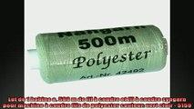 sélection de produits Lot de 1 bobine a 500 m de fil à coudre et fil à coudre syngarn pour machine à coudre