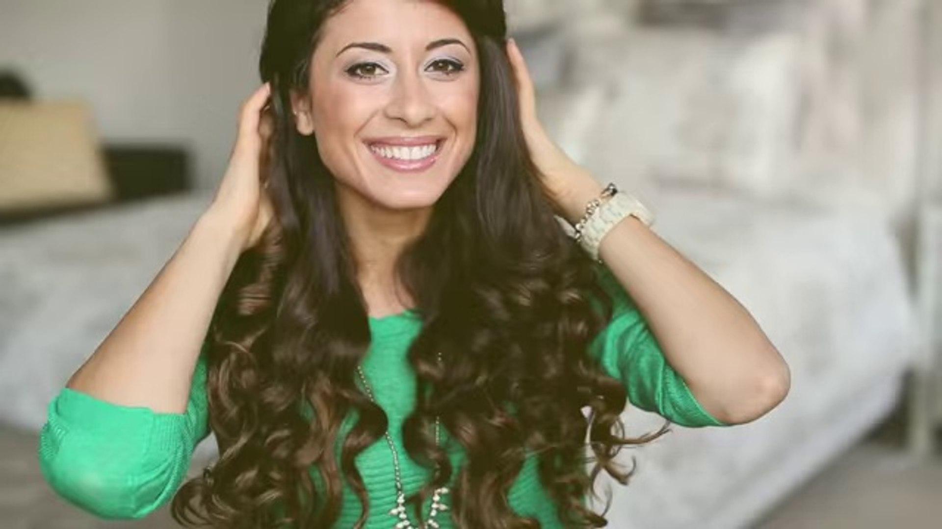 Heatless Curls Hair Tutorial , Hair styles
