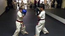 Self-Defense Carlsbad Martial Arts Boxing and Defense Drill