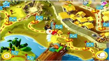 Angry Birds Epic: Old Nesting Barrow (The Blue Master Skulker Birds vs The Red Sword Spirit Bird)
