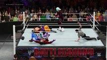 WWE 2K16 Beerus and Whis vs GT ssj4 Goku and vegeta Fight Night 3