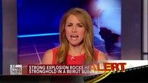 Breaking News : Huge deadly explosion rocks Hezbollah stronghold in Beirut Lebanon (Aug 15, 2013)