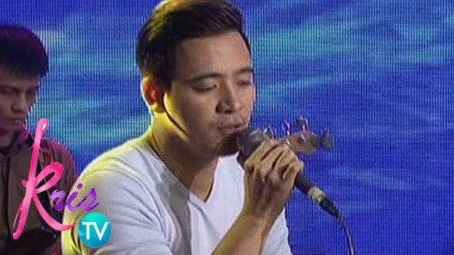 """Kris TV: Erik Santos sings """"Best Thing I Never Had"""""""