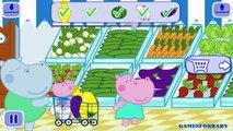 Peppa Pig En Francais | Jeu Pour Bébé | Peppa Pig Salle de bains Nettoyage