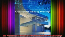 Read  The Professional Practice of Architectural Working Drawings  Full EBook