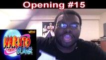 Naruto Shippuden Opening 15 - Guren - LIVE REACTION + Video Footage - ナルト