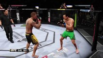 UFC - Quick Jabs Then A Big Knockout