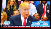 Donald Trump Says Hillary Clinton is being Protected! Email Scandal 2/22/16 Hannity. Fox N