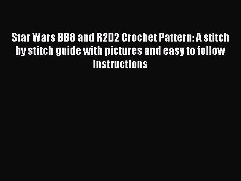 Star Wars C3PO AND R2D2 Crochet Pattern/Amigurumi | Star wars crochet | 1080x1440