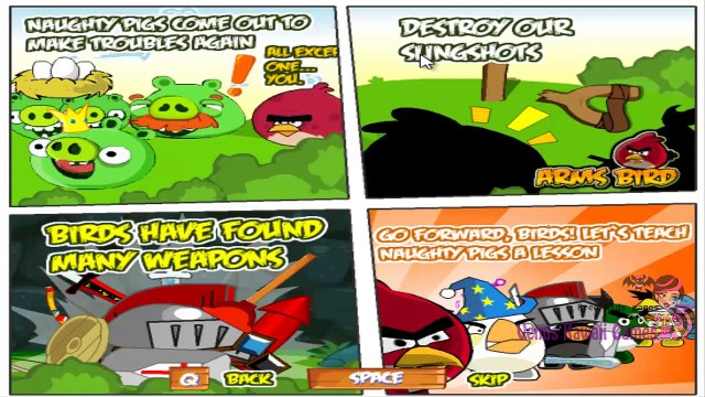 ANGRY BIRDS: Angry Birds Arms Bird FULL GAME - Platform Games - Angry Birds Games