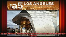 Read  A5 LOS ANGELES Architecture Interiors Lifestyle a5 Architecture Series  Full EBook