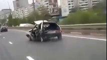 Contrôle Technique OK? Pas sur... Quelle voiture pourrie!!!
