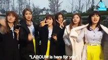 160409 라붐 Laboum Television (Gimpo Fansign) - Eng Sub