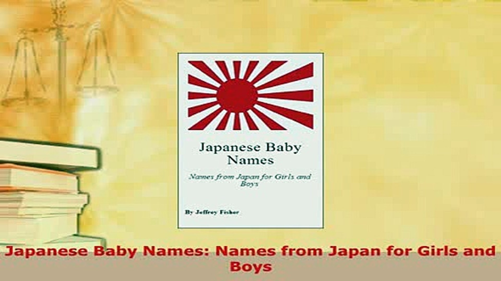 PDF Japanese Baby Names Names from Japan for Girls and Boys Download Online