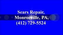 Sears Repair, Monroeville, PA, (412) 729-5524