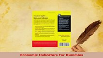 PDF  Economic Indicators For Dummies PDF Online