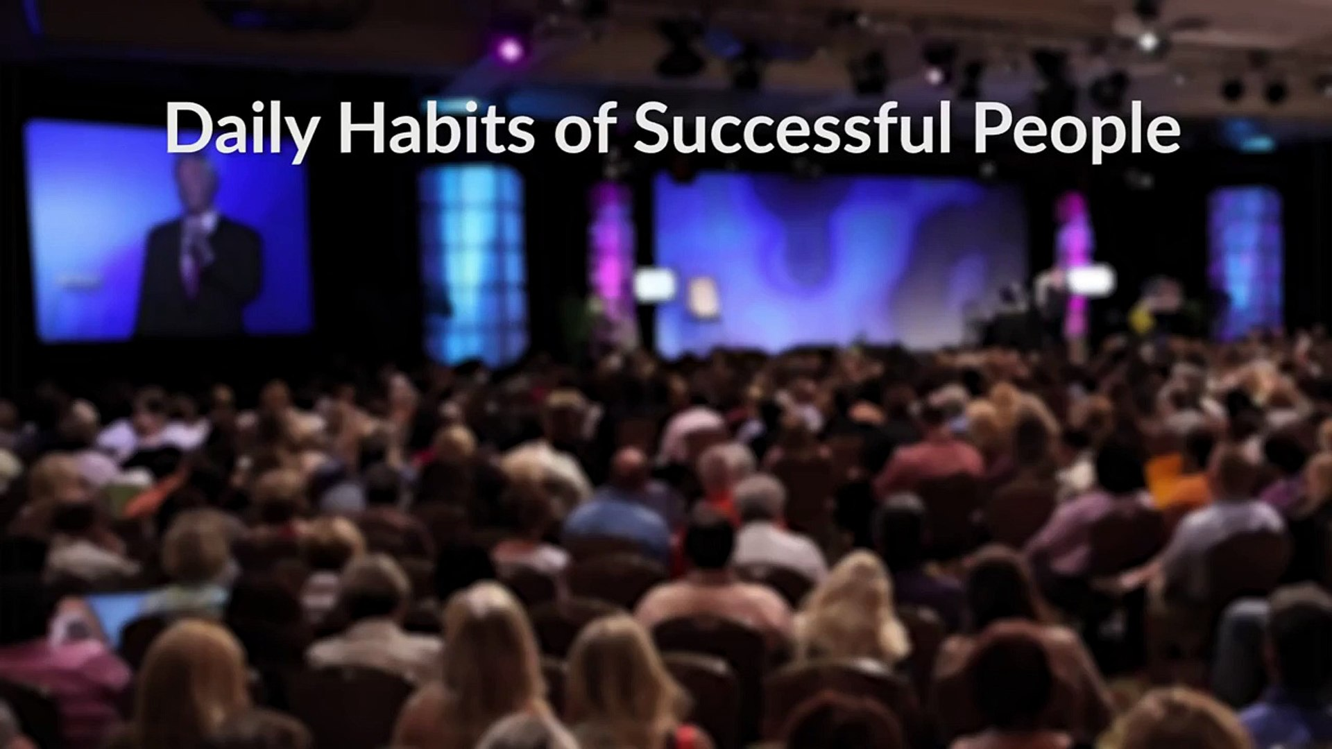 Daily Habits of Successful People- It's All About Routine -1