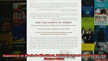 READ book  Happiness at Work Be Resilient Motivated and Successful  No Matter What  DOWNLOAD ONLINE
