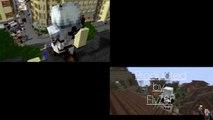 Assassin des templiers minecraft pur VS Assassin des templiers minecraft animation