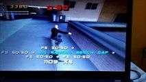 HS - moi et un pote sur un glitch de THPS2 (tony hawks pro skater 2)