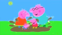 Peppa Pig - Muddy Puddles | Peppa Family jumping in muddy puddle | Peppa Jumping | George Jumping