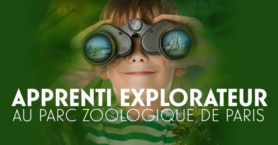 Avril : le mois des apprentis explorateurs au Parc Zoologique de Paris !