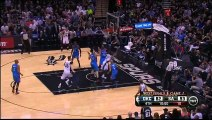 Kawhi Leonard Spins His Way to the Hoop and Lays it In!
