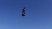 """Le tout premier test du """"Flyboard Air"""" par le français Franky Zapata"""