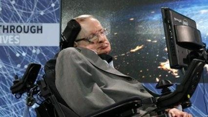 Stephen Hawking prepara un viaje a través del Universo