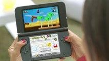 Mónica y Penélope Cruz hacen una apuesta jugando a New Super Mario Bros. 2 para Nintendo 3DS y Nintendo 3DS XL.